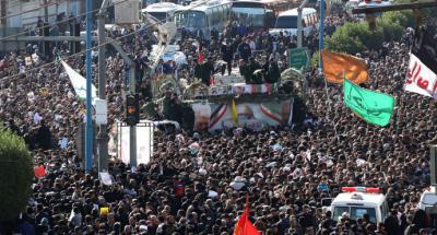 Irán: Multitudinario adiós al general Soleimani en las calles de la ciudad de Ahvaz
