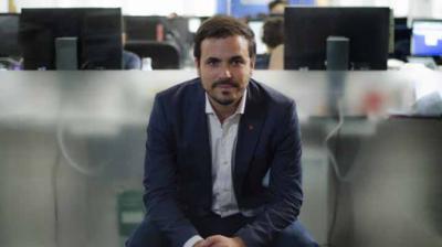 Alberto Garzón, coordinador federal de Izquierda Unida y diputado de Unidas Podemos en el CongresoALEJANDRO NAVARRO BUSTAMANTE
