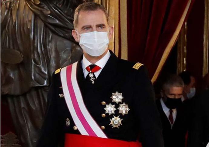 Felipe VI advierte en el discurso de la Pascua Militar: 'La Constitución consagra el orden democrático y los deberes a los que todos estamos sujetos'