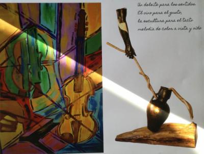 """""""Placeres Sensoriales"""" exposición de Javier J. Zamora y Austión Tirado"""
