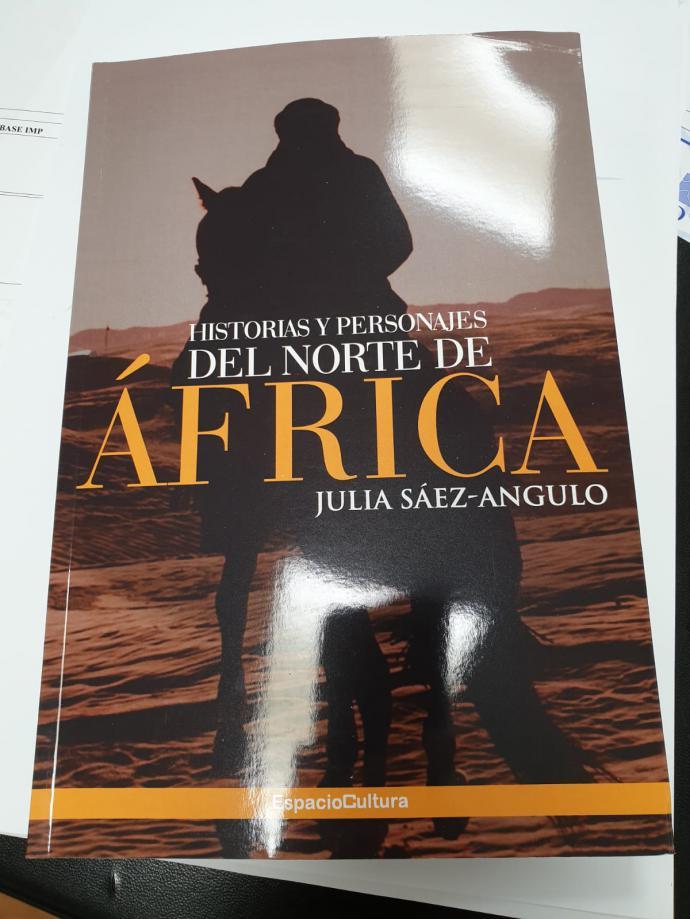 """""""Historias y personajes del norte de África"""", libro de relatos de Julia Sáez-Angulo"""