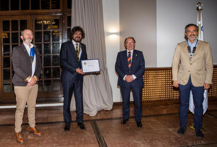 Eduardo Pesquera reelegido presidente del Club Rotario de Torrelavega.