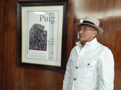 Andrés Puig, pintor cubano en España. Próxima exposición en Marbella