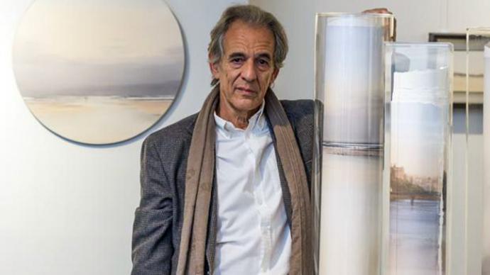 Juan Díaz, pintor acuarelista cosmopolita y sublime, en paisajes de tierras, marinas y celajes