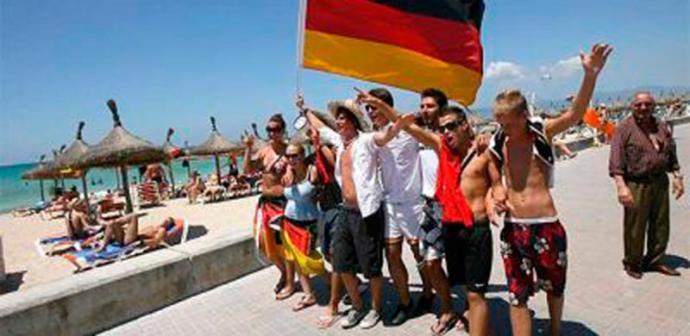 Turistas alemanes (imagen de referencia)