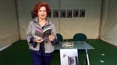 Concha Pelayo en la feria del Libro de Zamora