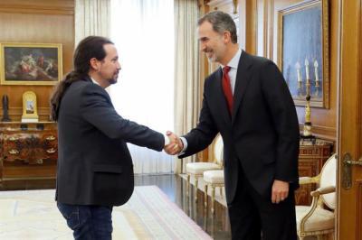 Iglesias propone 4 ejes económicos para iniciar la negociación con el PSOE
