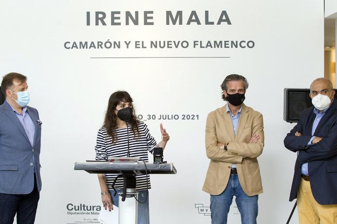 El espacio expositivo Pacífico 54 de la Diputación acoge la muestra 'Camarón y el nuevo flamenco' de la ilustradora sevillana Irene Mala