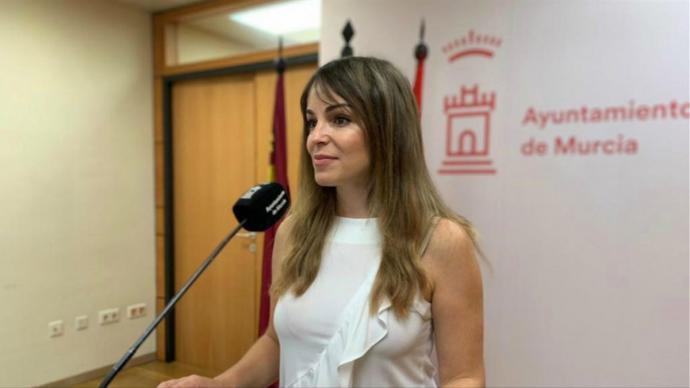 Rebeca Pérez, concejal del Ayuntamiento de Murcia (PP)