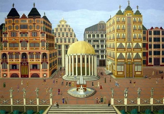 Exposición de dibujos y pinturas de Santiago Marchante Collado