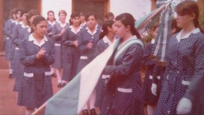 Acto en el ICIED a principio de los años 80.