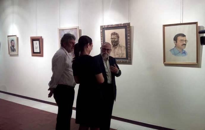 """José Luis Marchante inauguró su exposición """"Visto por los artistas"""""""
