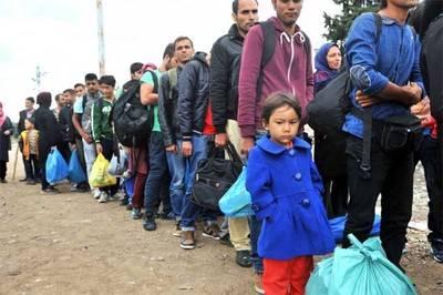 Los niños representan la mitad de refugiados del mundo, según ACNUR