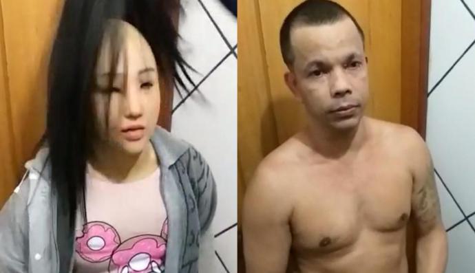 Brasil: Narcotraficante que trató de huir disfrazado de su hija aparece muerto en su celda