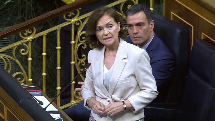 El gobierno descarta la convocatoria de un referéndum sobre la Monarquía (captura de pantalla)