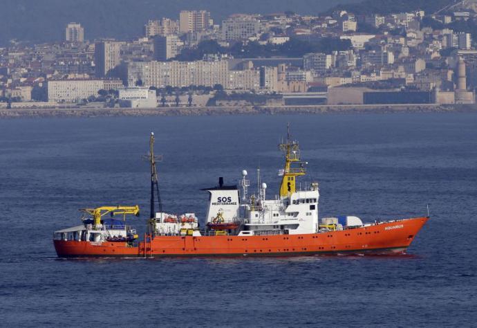 Buque 'Aquarius' anuncia el fin de sus actividades de rescate de inmigrantes en el Mediterráneo