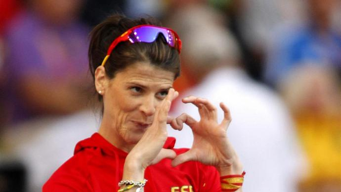 La atleta Ruth Beitia