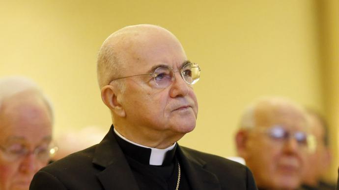 Carlo María Viganò, ex nuncio en Estados UnidosRD