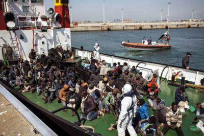 Según informa ACNUR, una de cada siete personas que intentaron cruzar Mediterráneo en junio murió