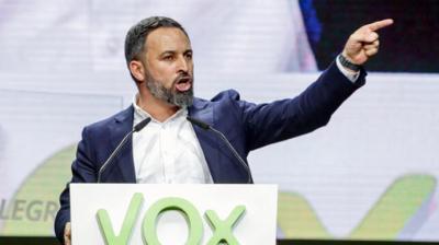 Santiago Abascal líder de VOX en imagen de archivo