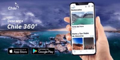 Chile 360º: La APP que permite experimentar las bellezas nacionales a través del teléfono móvil