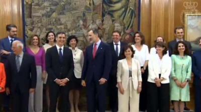 El gabinete de Pedro Sánchez promete su cargo en el 'Consejo de Ministras y Ministros'