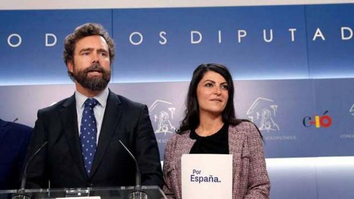 El portavoz de Vox en el Congreso, Iván Espinosa de los Monteros ha anunciado un acurdo con el PP