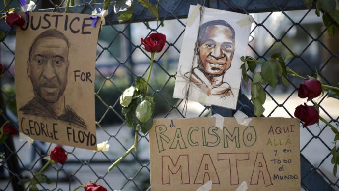 Miles de personas protestan en EEUU bajo la consigna 'las vidas negras importan'