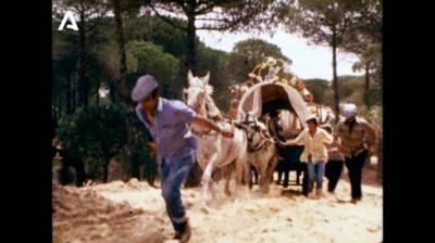 La Consejería de Cultura rescata un documental de 1980 sobre el Camino del Rocío