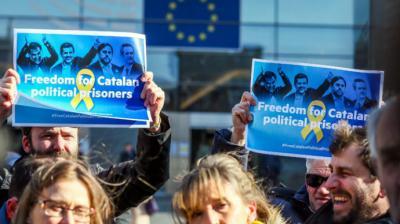 El Constitucional niega libertad para candidato a presidencia de la región Cataluña