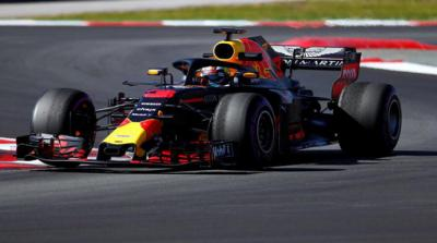 Daniel Ricciardo batió récord en pruebas de Fórmula 1 en el circuito de Catalunya