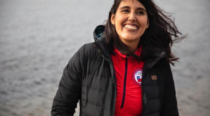 Bárbara Hernández se convirtió en la primera mujer en cruzar nadando ruta inédita del Canal Beagle