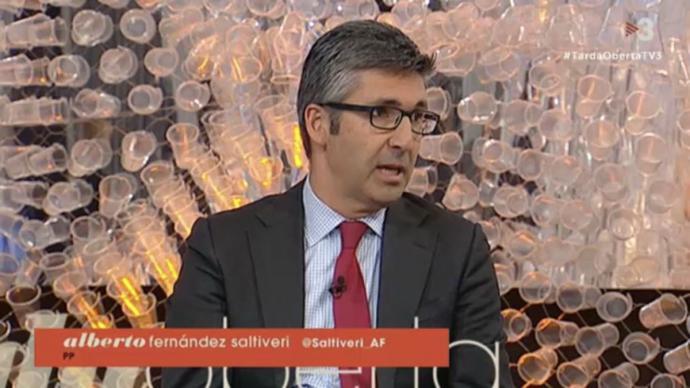 El PP ha destituido de todos sus cargos a Alberto Fernández Saltiveri, que hasta ahora ocupaba el puesto de vicesecretario de comunicación