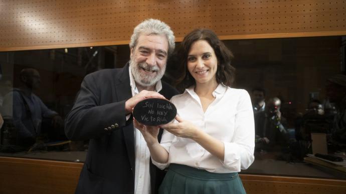 Isabel Dia Ayuso y su jefe de Gabinete, Miguel Ángel Rodríguez