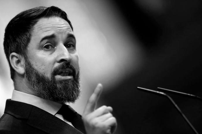 Santiago Abascal, líder del ultraderechista partido VOX