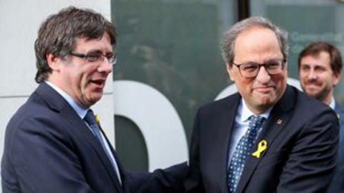 Los CDR detenidos hablaban de 'blindar comunicaciones' entre Gandalf y Lisa, en referencia a Torra y Puigdemont