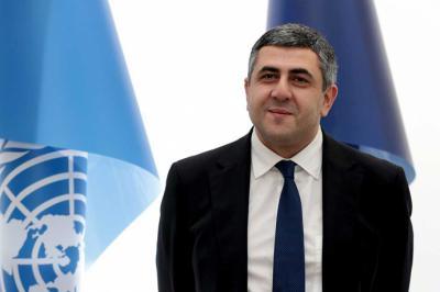 El secretario general de la OMT, Zurab Pololikashvili