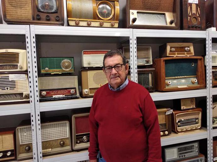 Román Barona, una vida entre aparatos de radio y televisión