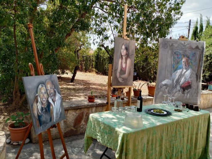 José Fayos, nueva casa y taller/estudio de pintura en Palma de Mallorca