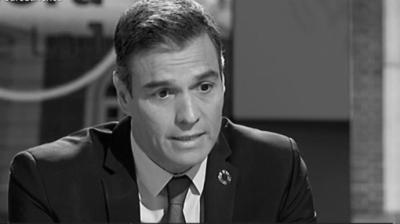 Pedro Sánchez, presidente del gobierno (captura de pantalla)