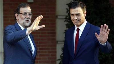 Mariano Rajoy Pedro Sánchez (imagen de archivo)