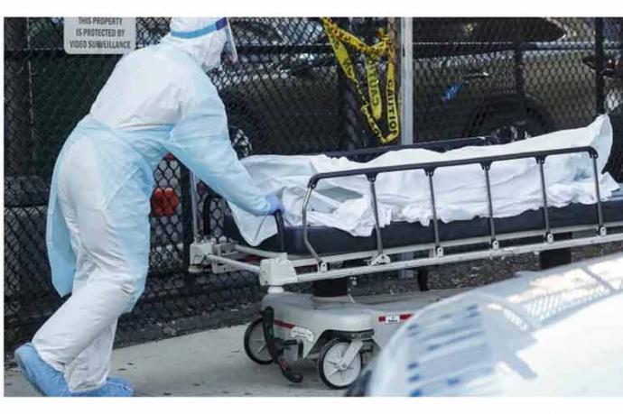 Nueva York registra récord de muertes por coronavirus y tiene la mayor cifra de casos en el mundo