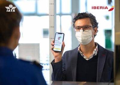 Iberia implanta el IATA Travel Pass entre Europa y Latinoamérica