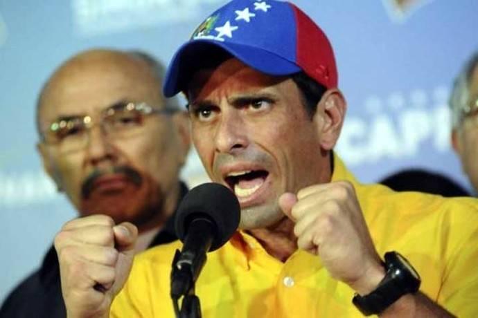Venezuela: Henrique Capriles denuncia que fue inhabilitado por 15 años