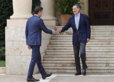 Sánchez, incapaz de ofrecer al rey una solución ante el bloqueo político
