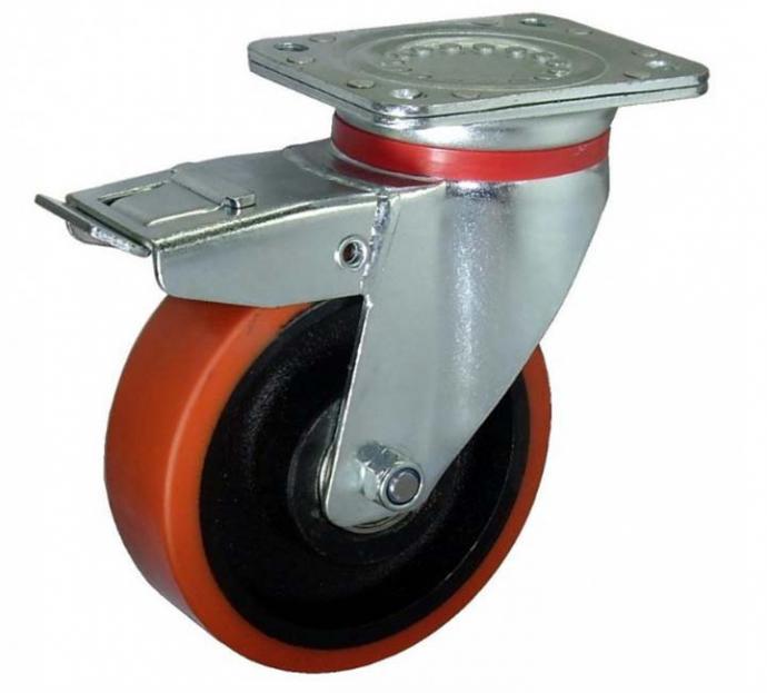 Conozca las ruedas industriales más adecuadas para superficies delicadas
