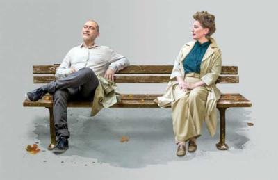 """""""El beso"""", una obra de camino, diálogo y en marcha, en la sala Margarita Xirgu del Teatro Español"""