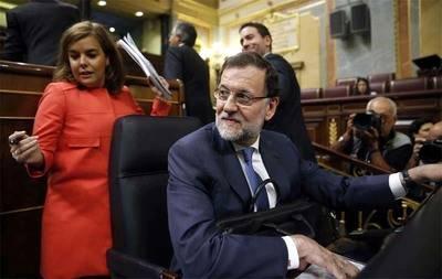 Presidente Rajoy y vicepresidenta Sáenz de Santa María
