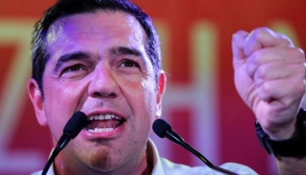 El líder de Syriza  Alexis Tsipras.