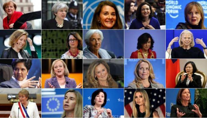 Ránking: Las 20 mujeres más poderosas del mundo.